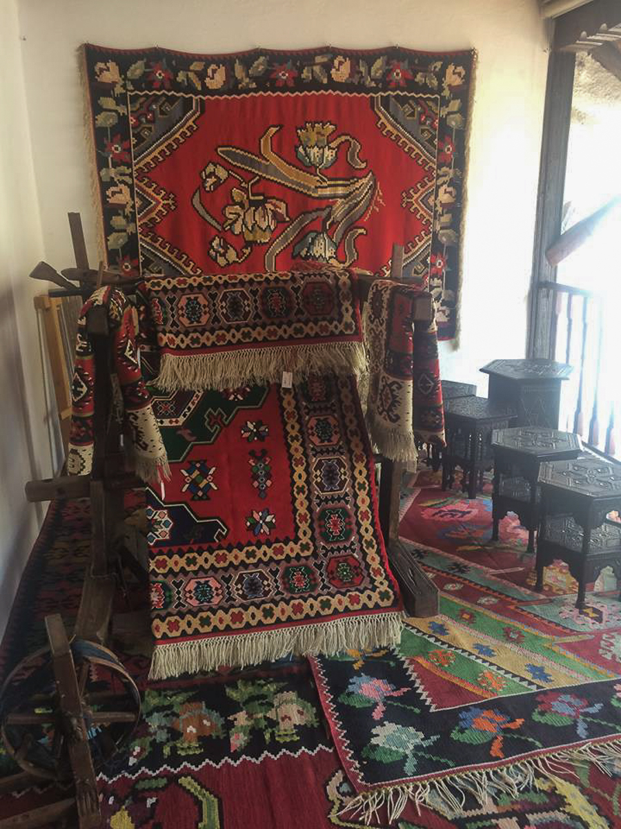 Traditional carpets in Bosnia Herzegovina