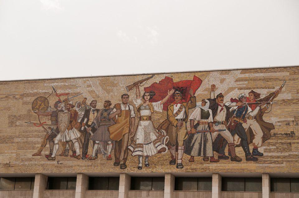 En dag i Tirana
