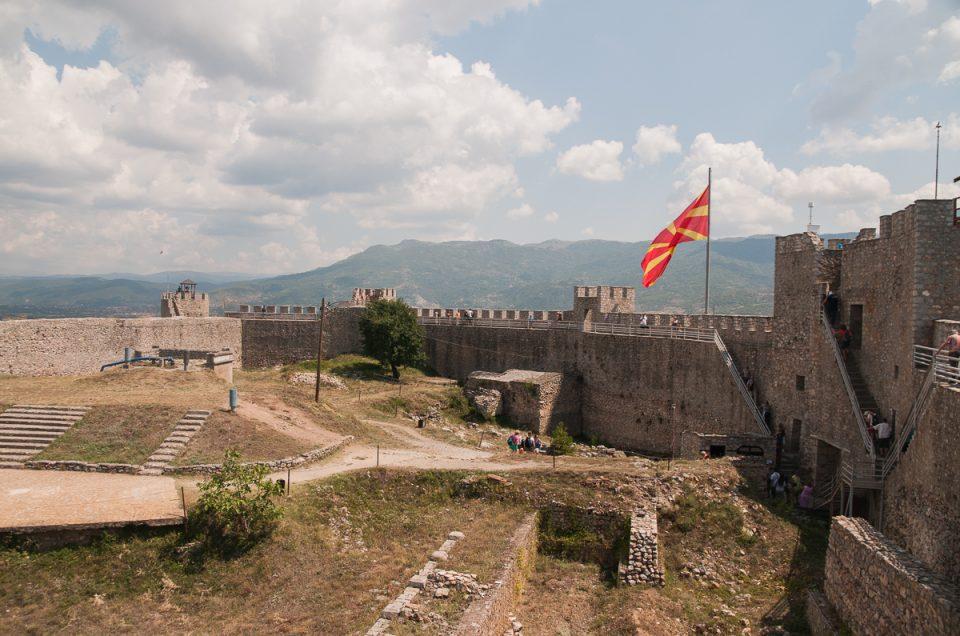 En dag i Ohrid, Makedonia