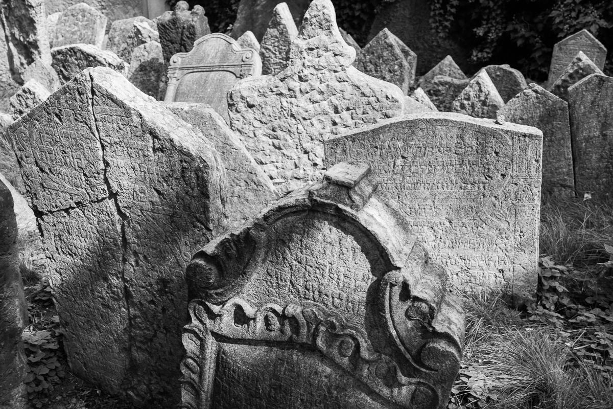 Den gamle jødiske kirkegården, Praha, Tsjekkia
