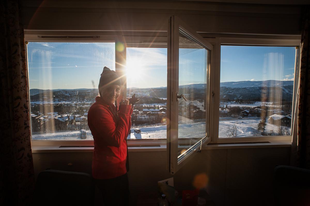 View at Beitostølen, Norway