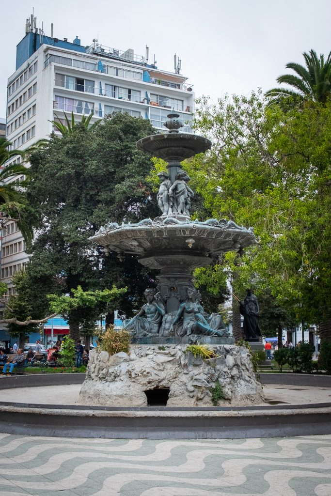 Fountain Valparaíso Chile