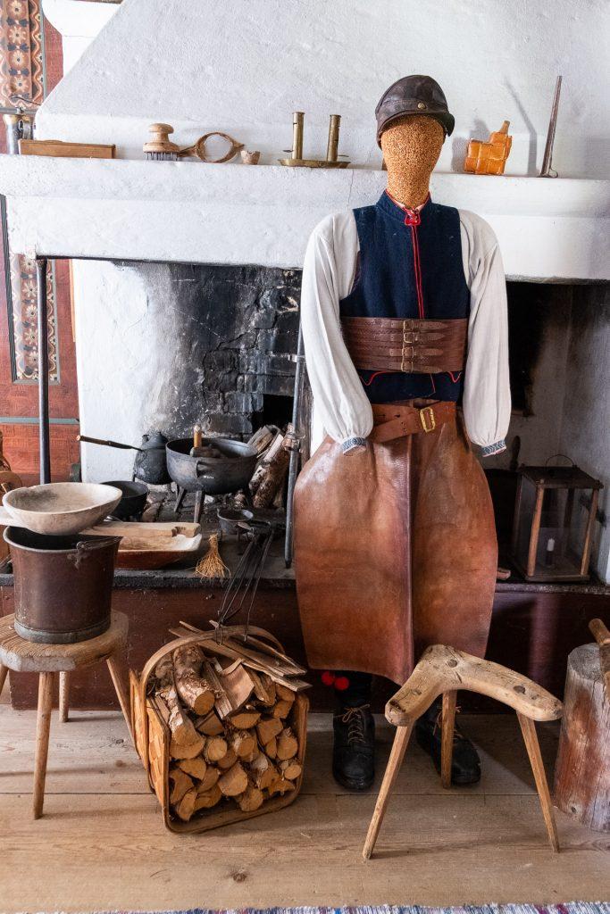 Traditional costumes from Rättvik, Dalarna, Sweden
