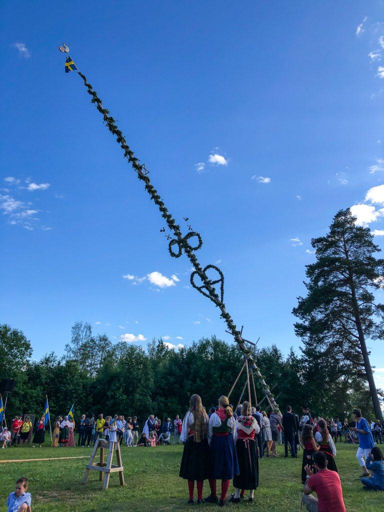 Midsommar in Rättvik, Dalarna, Sweden