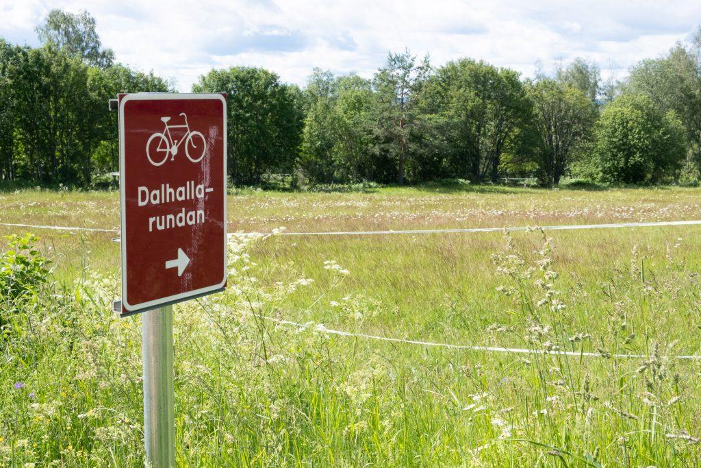 Dalhallarundan Dalhalla Dalarna Rättvik Sverige sykkel sykkelutleie sykkelsti