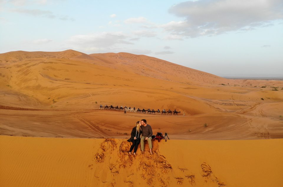 How I lost our drone in Morocco