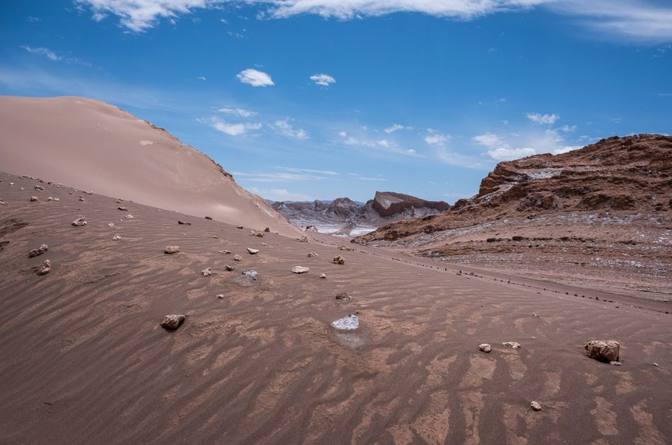 When flooding (and we) arrived at The Atacama desert