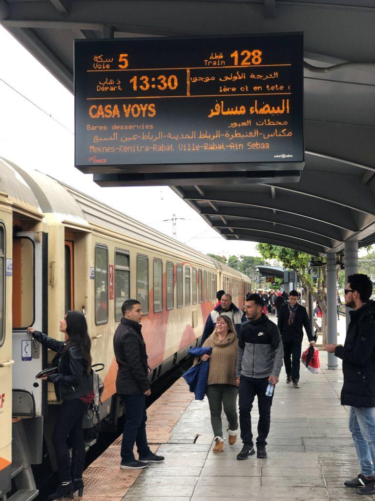 Fez Morocco train station