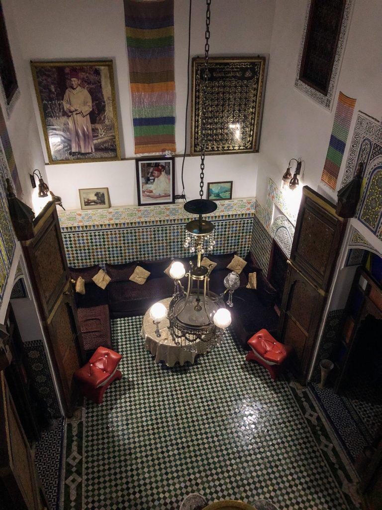 Riad in Fez Morocco