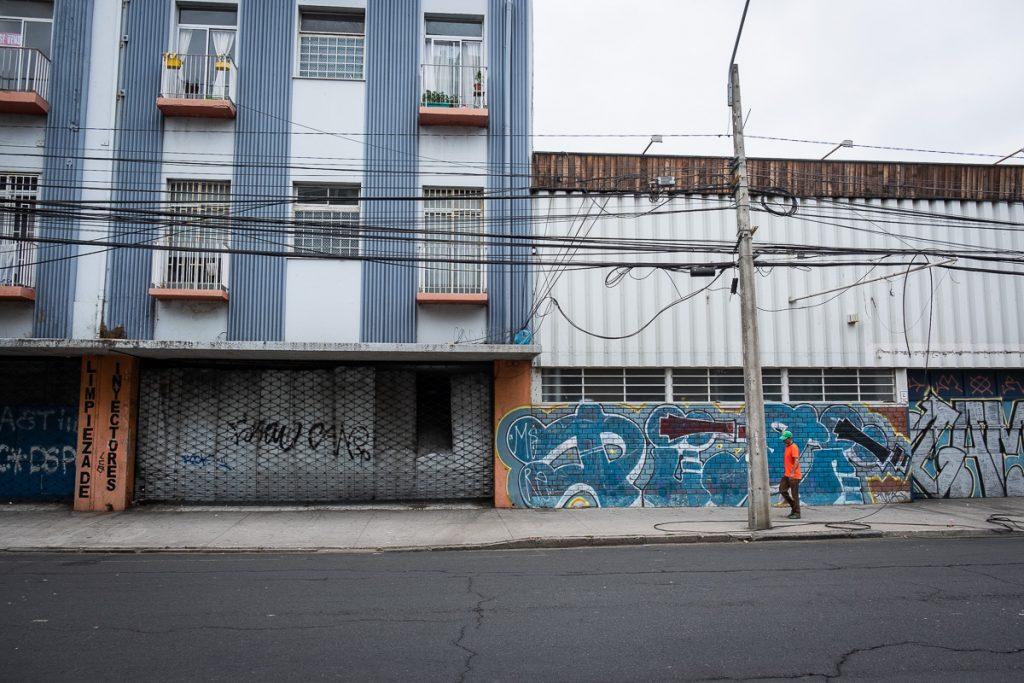 Downtown Valparaíso Chile