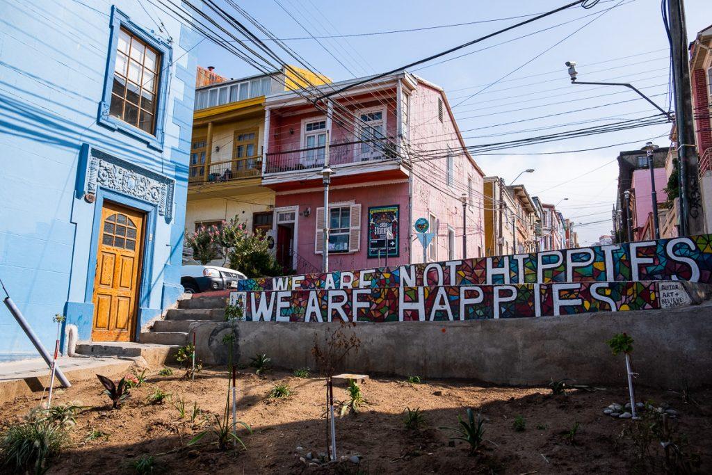 Street art in Valparaíso Chile