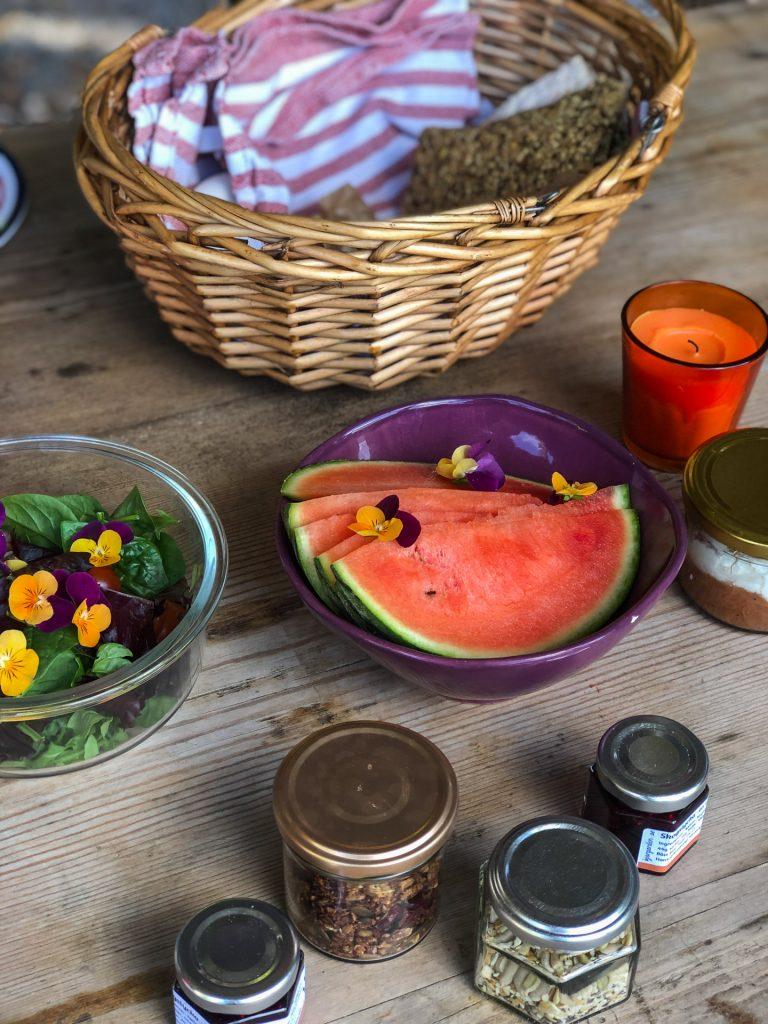 Frokost hos Näsets Marcusgård Dalarna Sverige