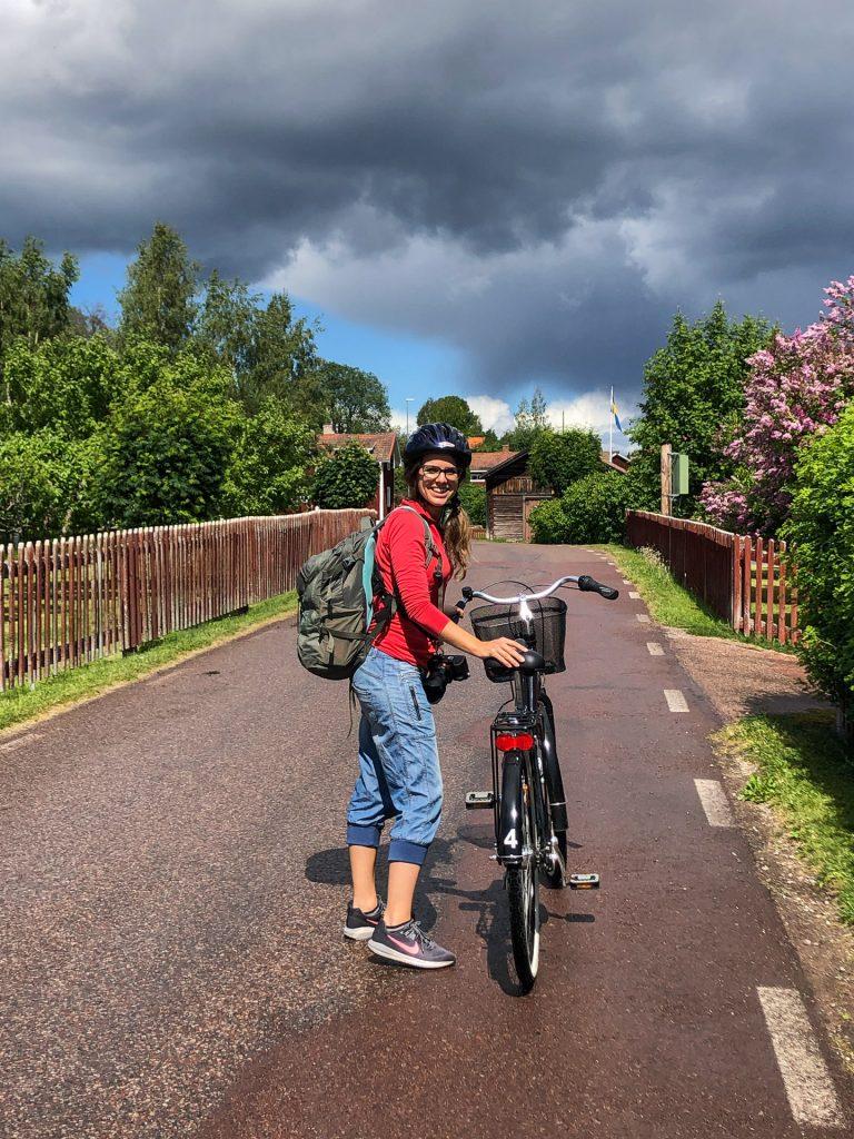 Dalhallarundan biking bike rent Dalarna Sweden Rättvik