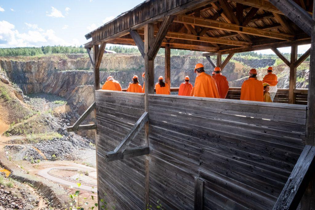 Falu Gruva mine Dalarna Sweden