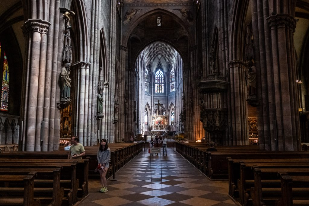 Freiburg im Breisgau , Tyskland Germany, Baden Württemberg, Freiburg Minster, cathedral, church, God,