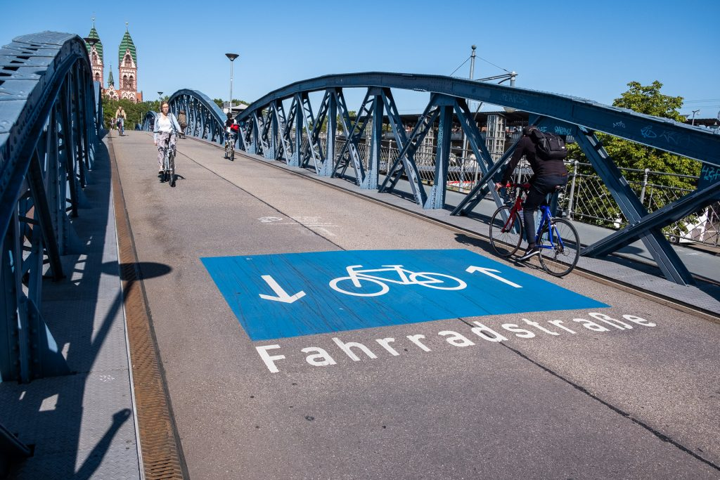 Freiburg im Breisgau , Tyskland Germany, Baden Württemberg, bike, bicycle, green city
