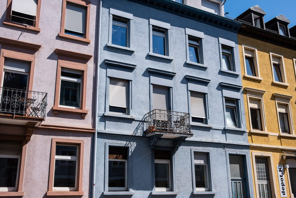 Freiburg im Breisgau , Tyskland Germany, Baden Württemberg, pastel, buildings