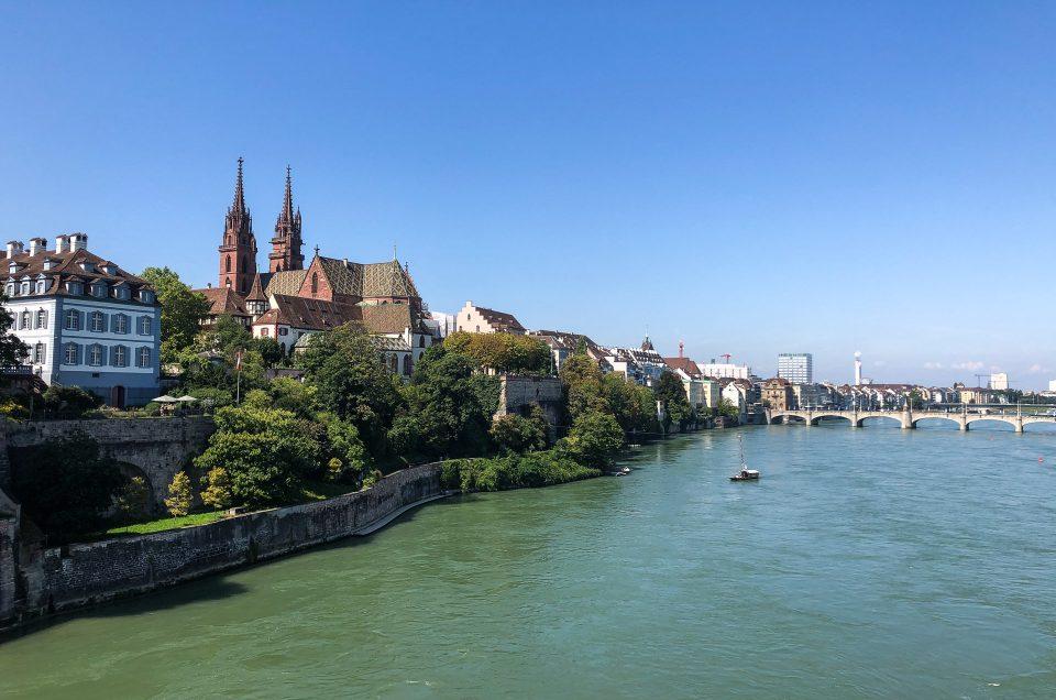 Å flyte nedover Rhinen i Sveits